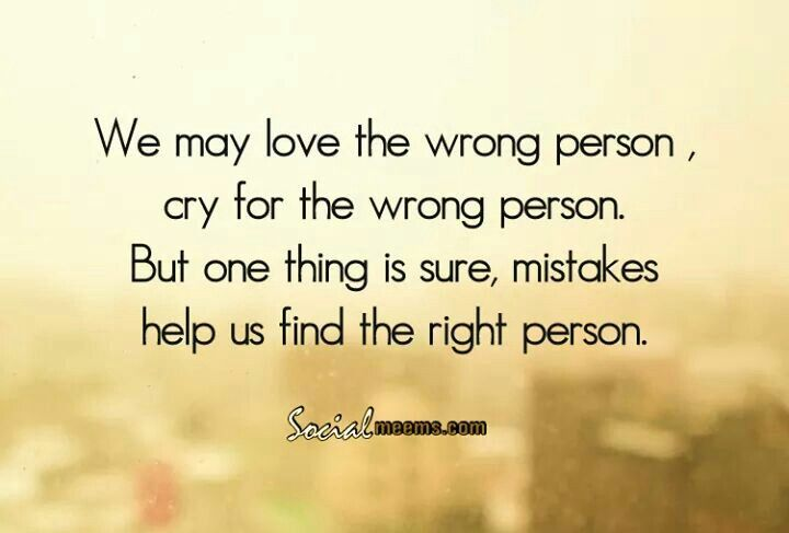 Finding mr right...