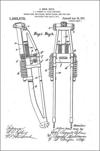 Harley Servi Car Fork Parts Diagram