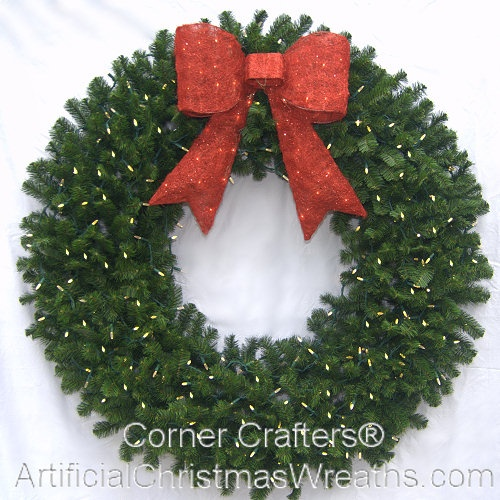 35 best large christmas wreaths images on pinterest large 5 foot prelit christmas wreath mozeypictures Gallery