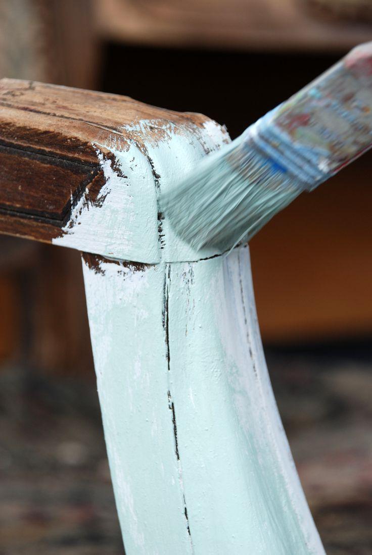 Kreide Emulsion eigent sich ausgezeichnet zum Stre…