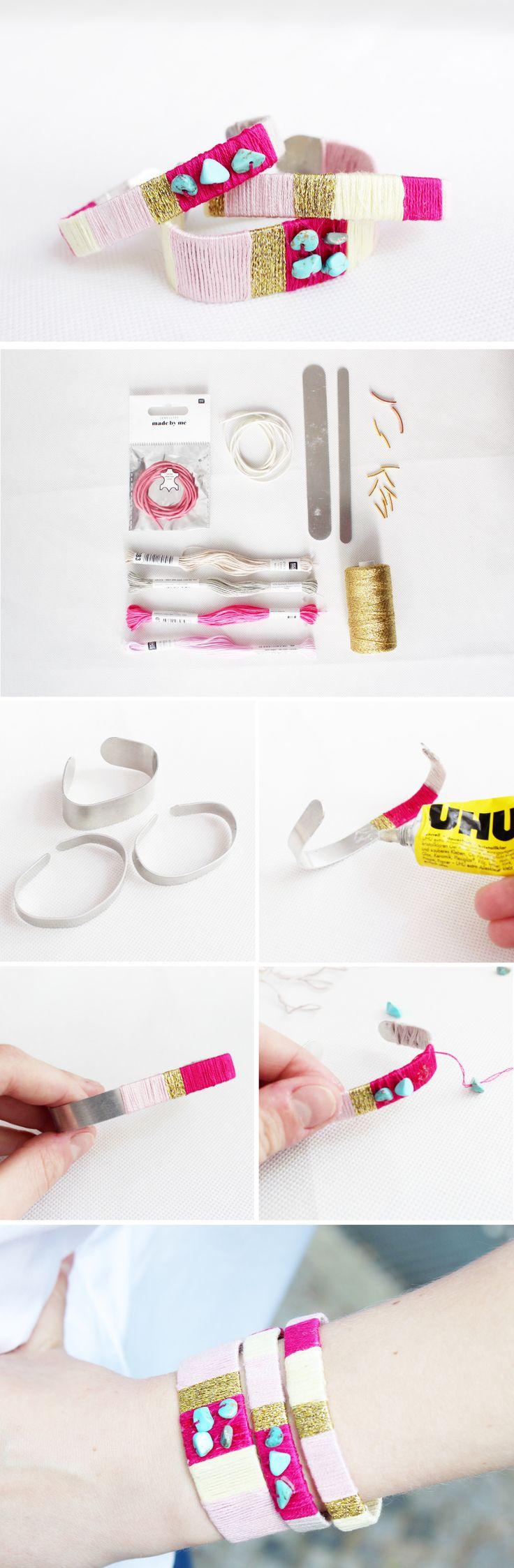 DIY Armbänder im Sommer-Look Selber Machen