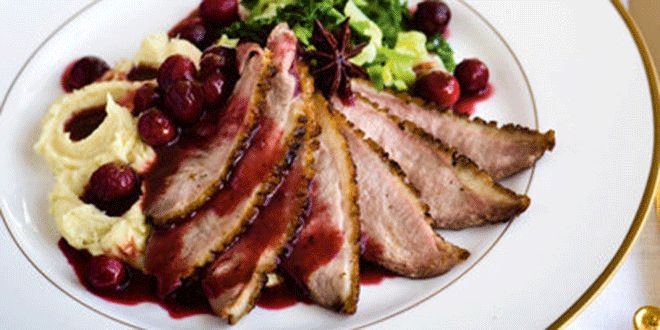 Time: 1 hr 5 minYield: 6 servings Ingredients 6 large boneless duck breast fillets, skin onSalt an...