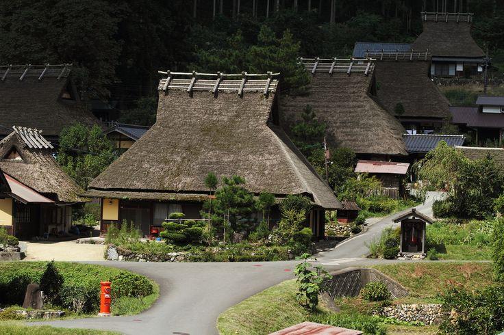 Old houses Miyama-Kita Village, Kyoto Prefecture.