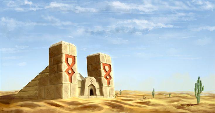 Minecraft Desert Temple by Algoinde on DeviantArt