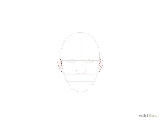 Kasvojen piirtäminen