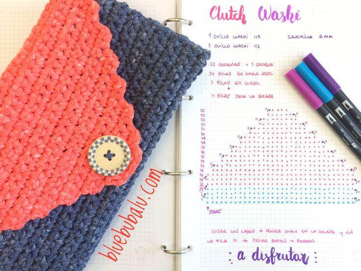 16 best crochet images on Pinterest   Crochet purses, Crocheted bags ...