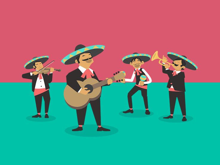 The Mexican Mariachi Band