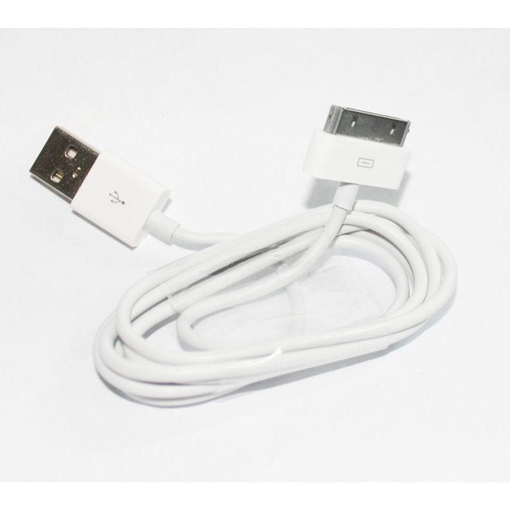 Usb Καλώδιο για iPhone, iPad, iPod - άσπρο