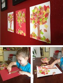 Random Bits: Quick and easy fall crafts {kid craft}