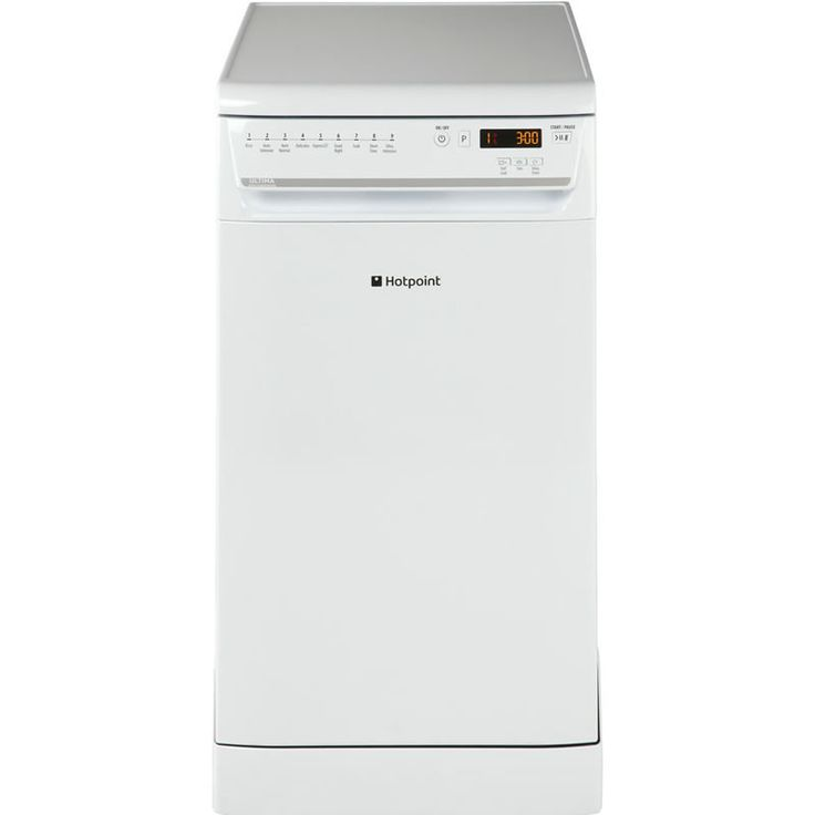 Hotpoint SIUF32120P ULTIMA 10-Place Slimline Dishwasher 9 Progs Class A   White (Barcode EAN=5016108940389) http://www.MightGet.com/january-2017-13/hotpoint-siuf32120p-ultima.asp