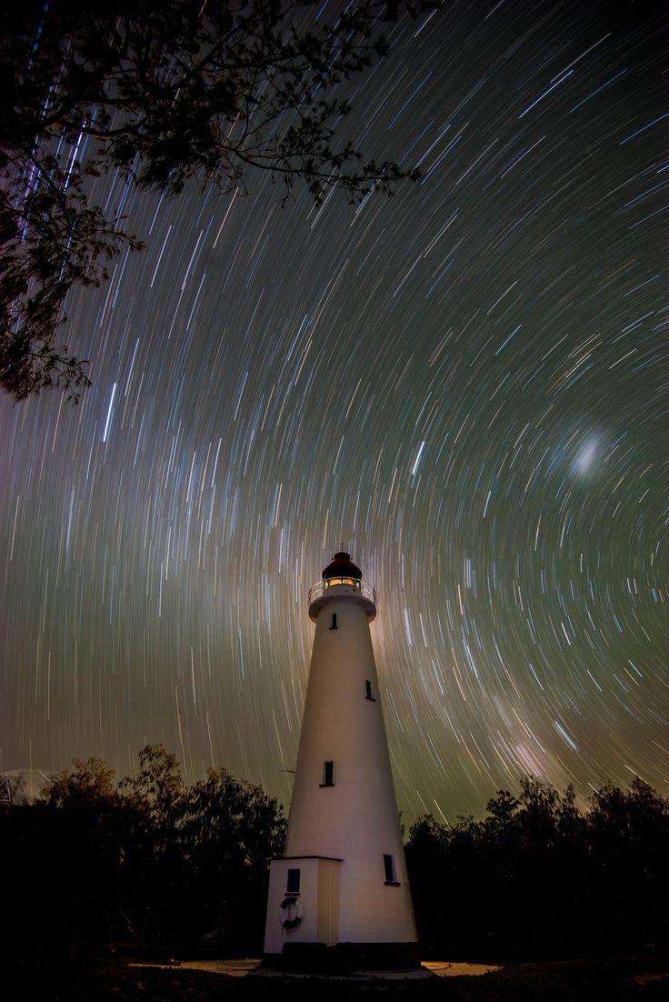 Lighthouse, Lady Elliot Island Queensland Australia