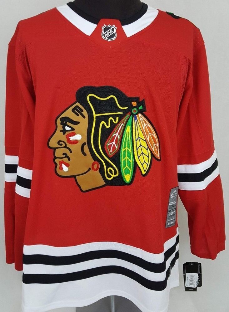 e59362f8b16 2017-18 Adidas Chicago Blackhawks Authentic On-Ice NHL Climalite Jersey  Size 52 #Adidas #Jersey #ChicagoBlackhawks