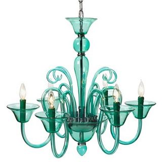 Teal Chandelier | Flickr - Photo Sharing!