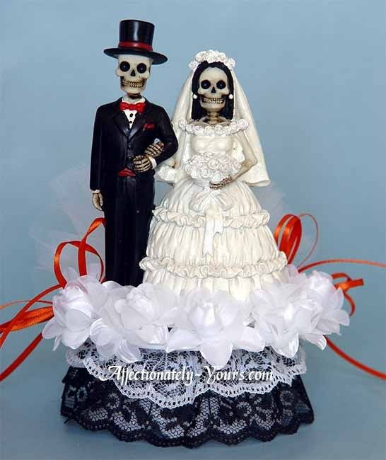 skeleton wedding cake toppers 10 best skeleton and groom cake toppers images on 20175