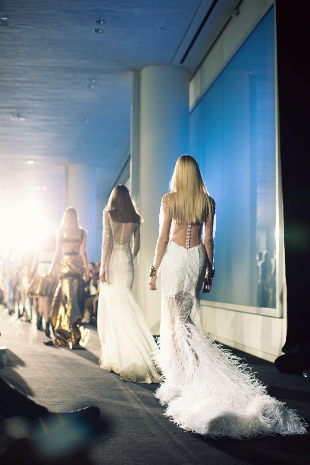 Walking the runway