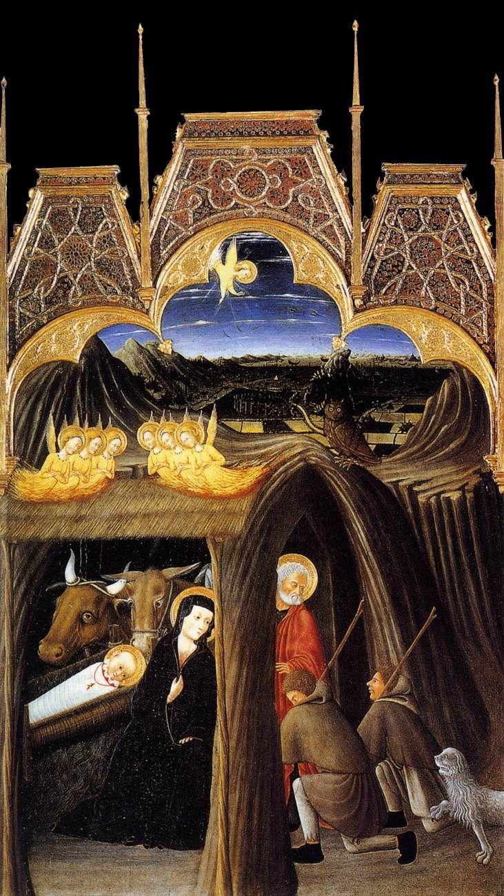 Pietro di Giovanni D'Ambrogio, Adoration of the Shepherds (c1445)
