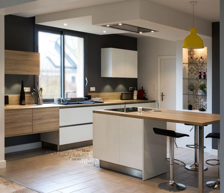 202 best r alisations de cuisines images on pinterest kitchens directory service and fishing line. Black Bedroom Furniture Sets. Home Design Ideas
