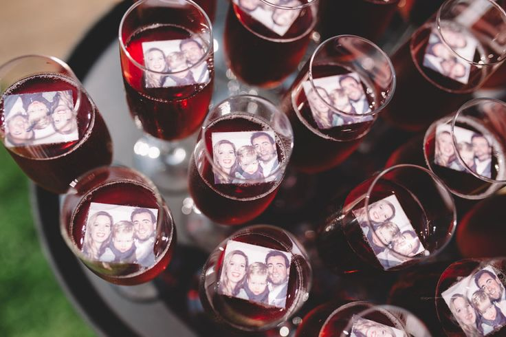 Jullie eigen gezicht op de champagne. //Foto: Wianda Bongen Photography.