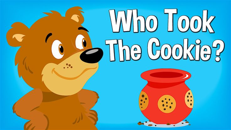 Find out Who Took The Cookie?  with this classic chant from Super Simple Songs #ece #prek #kindergarten