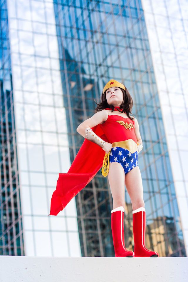 Mum Photographer Turns Her Daughter Into Iconic Characters like Wonder Woman. The other costumes are equally impressive!