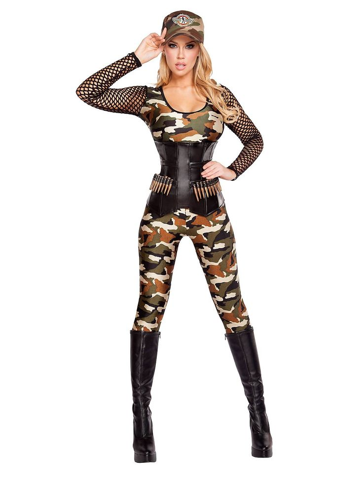 Women's Sexy Lusty Lieutenant Costume | Wholesale Military Costumes for Adults