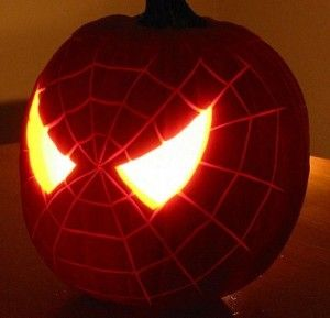 Spiderman pumpkin definitely making this one for jeremy this year! :)
