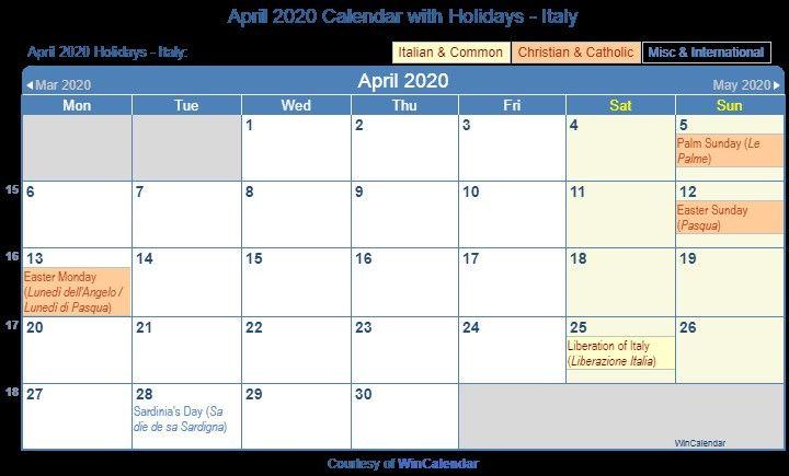 Printable Calendar For April And May 2020