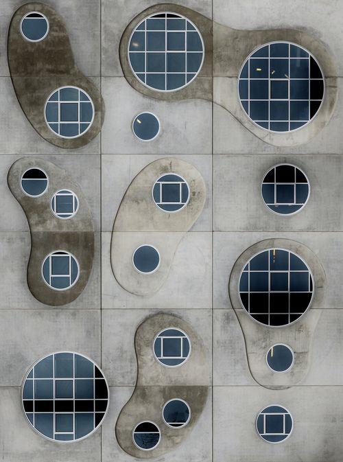 Symphony of windows, House of Music, Aalborg by Lotte Grønkjær