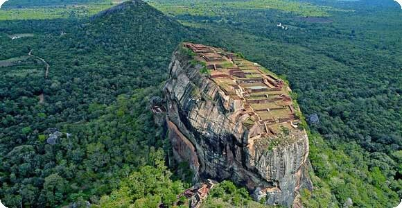 Sigiriya! One of the best places I've ever been 2 and its a historical place! So it's nice and can get a better view when u climb 2 the top