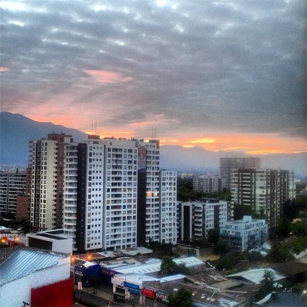 Santiago, segundos antes del amanecer