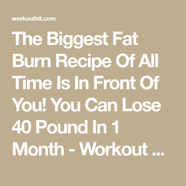 how to lose 40 pounds in 5 months