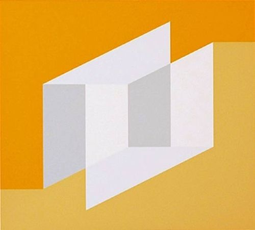 """In 1920, Josef Albers enrolled at the Bauhaus which placed equal importance on technical and artistic skills. The basis of its education was the """"preliminary course,"""" a curriculum designed to prepare the students for further study in the school's various workshops; the course's central concept was the """"contrasting effects"""" of form, texture, and—most importantly for Albers—color. After completing his course of study, Albers was appointed as a teacher at the Bauhaus in 1925."""