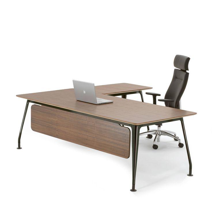 Best 25+ Contemporary office desk ideas on Pinterest ...