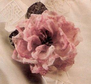 Flor de tela IV tutoriales flores tela y otros.