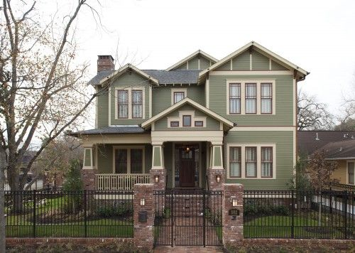 Best Exterior House Colors Images On Pinterest Facades At - Craftsman style exterior house color combinations for homes
