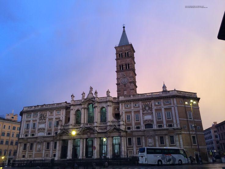 Dawn in Rome, 07:30 am, 1st February 2015.