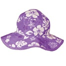 Purple Hawaii Reversible sunhat, $29.99 - two sunhats in one!