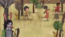 Onde está a bruxa? (Editora Scipione, 2012) Evelyn Daviddi, ilustradora.