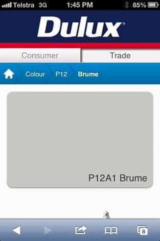 Weatherboard exterior - Dulux Brume