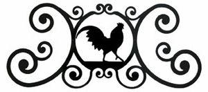 #Rooster Over-the-Door #Plaque http://www.okdecor.com/store/p81/decorative-over-the-door-plaques.html