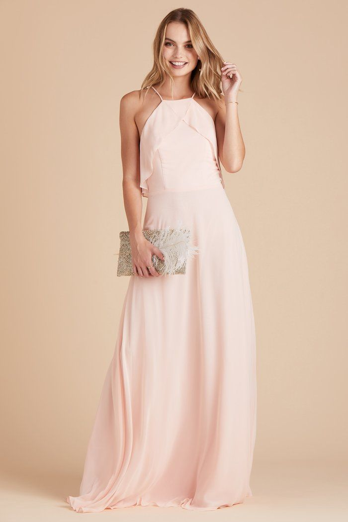a2b044e3bbb33 Jules Dress - Blush Pink | SayHawk Wedding - For the Gals ...