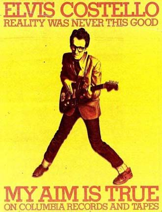 Elvis Costello - My Aim Is True Press Advert 2