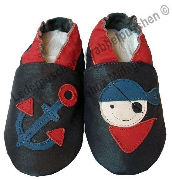 Lederpuschen Baby Leather Shoes