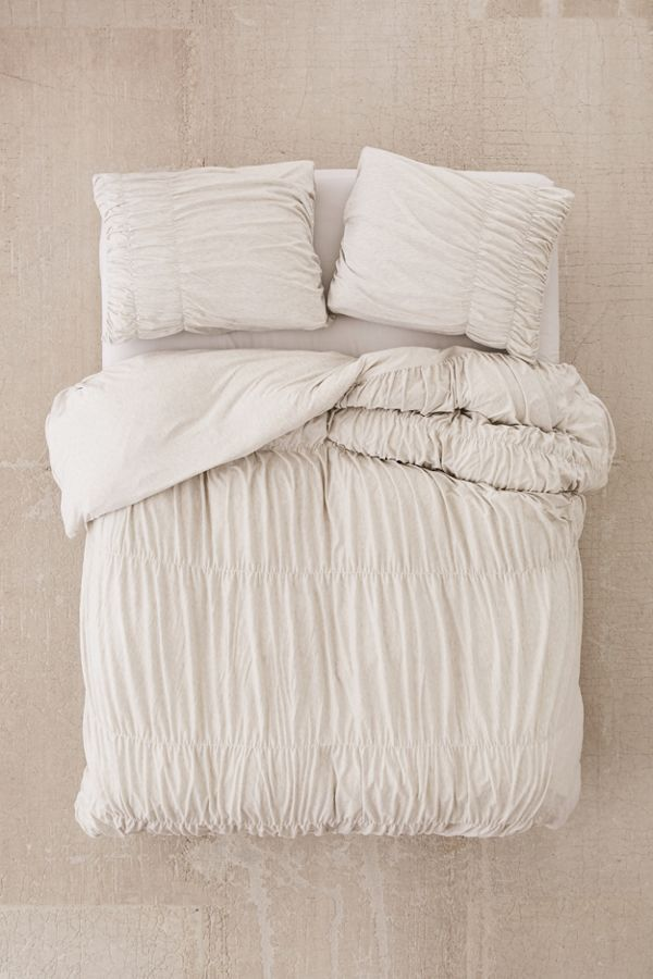 Cinched Jersey Duvet Cover Bed Duvet Covers Duvet Covers Urban Outfitters Duvet Covers