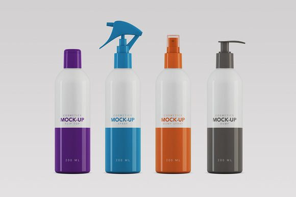 Cosmetics Packaging Mock Up 200ml Cosmetic Packaging Cosmetics Mockup Packaging Mockup