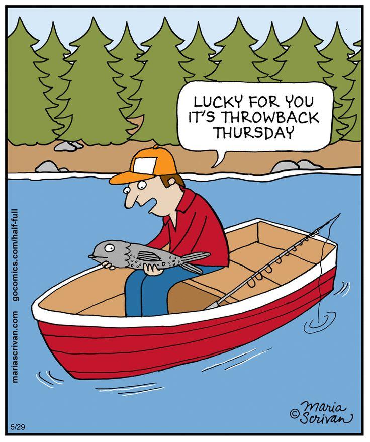Lucky fish! | Read Half Full #comics @ www.gocomics.com