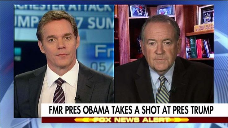 Former Arkansas governor Mike Huckabee said he is in disbelief that former president Obama is still congratulating himself on the Affordable Care Act.