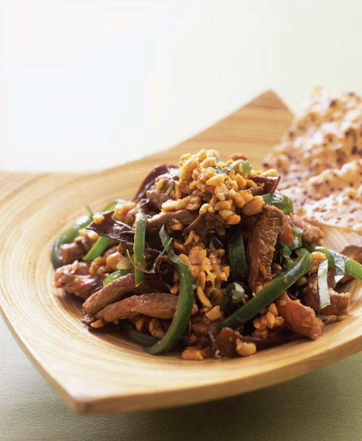 Stir-fried venison with peanuts and lemongrass by Tracey Lister from KOTO | Cooked
