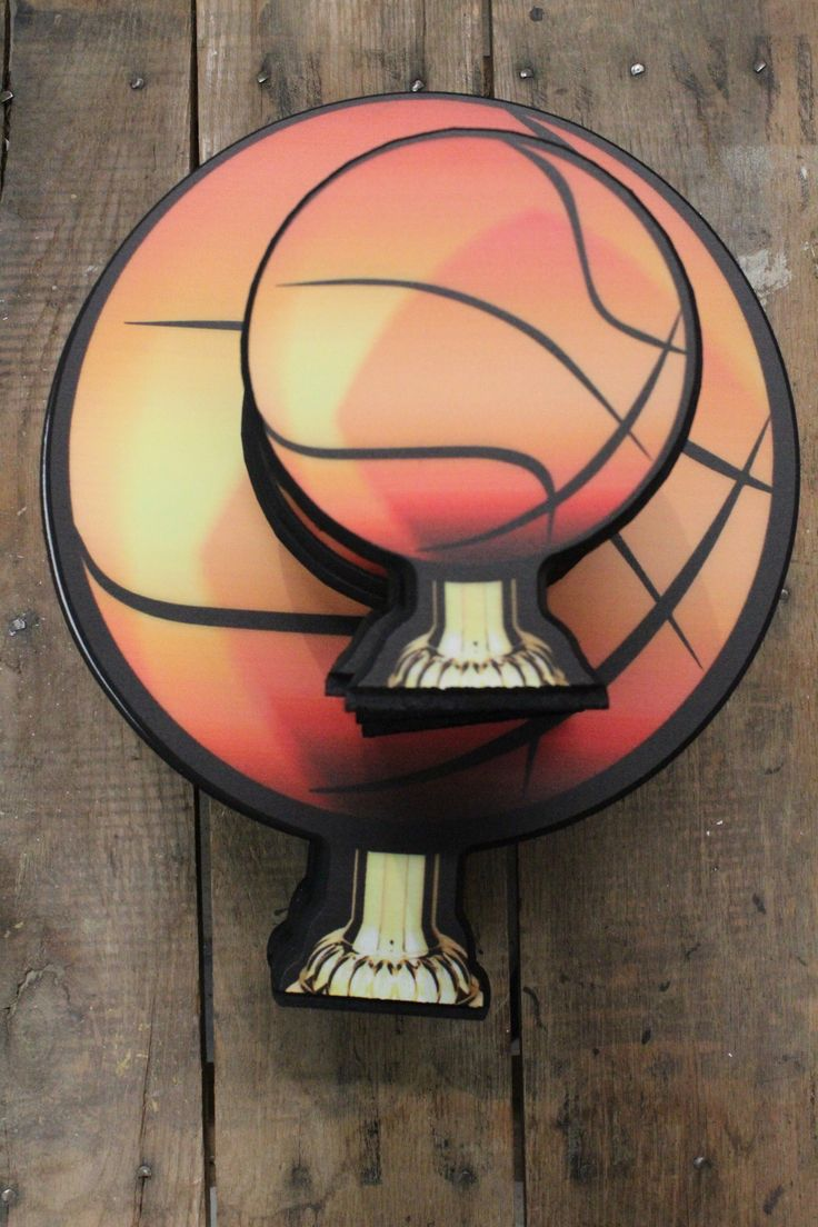 Multiple Size And Sport Options Can Make Custom By Uploading Your Logo Or Design Trophydeals Basketball Trophy Woodtrophy Wood Madeinusa Usamade