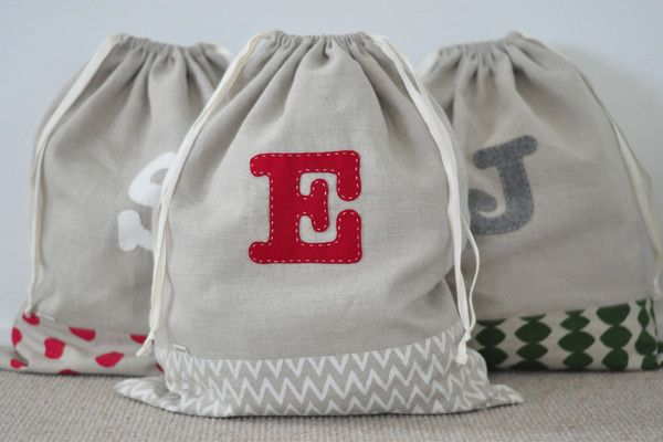 Limited edition and custom made Santa sacks – Little & Loved
